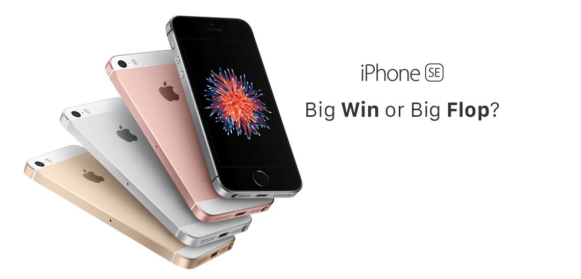 Apple iPhone SE Big Win Big Flop Cell Phone Hospital blog