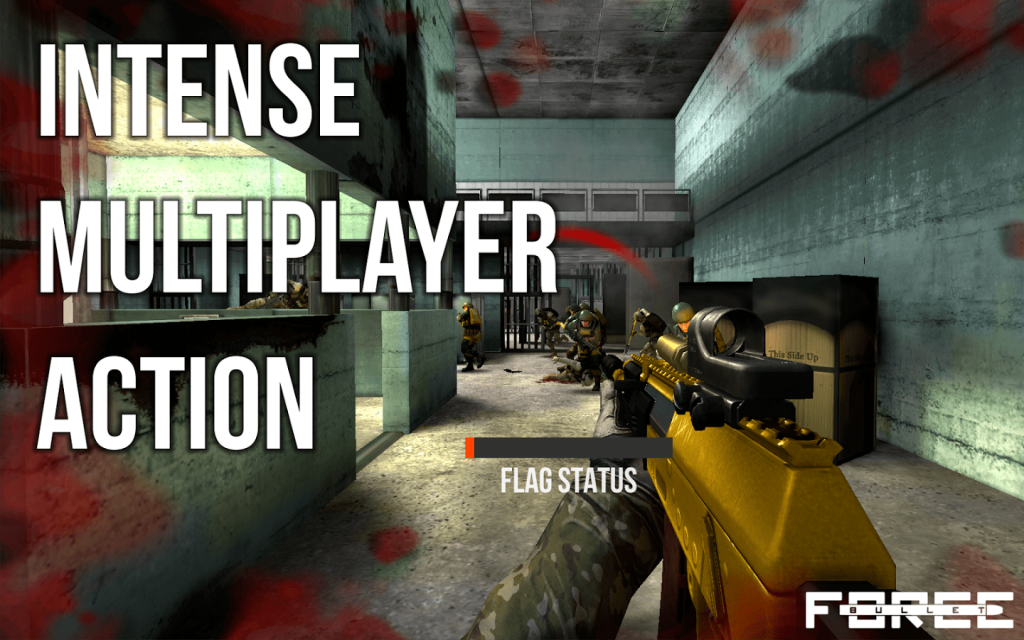 Best Shooting Games for Android 2017 – Bullet Force