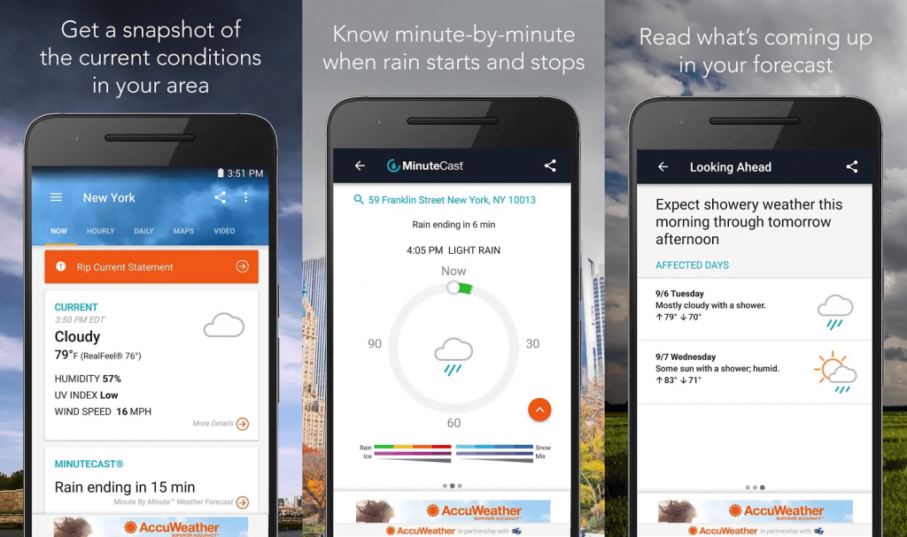 Best Weather Apps for Android 2018 - Accuweather