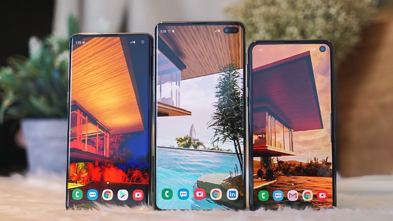 Samsung Galaxy S10, S10Plus, S10e
