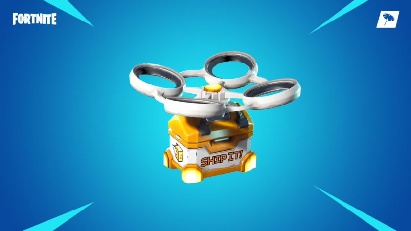 Fortnite update hot spot loot carrier