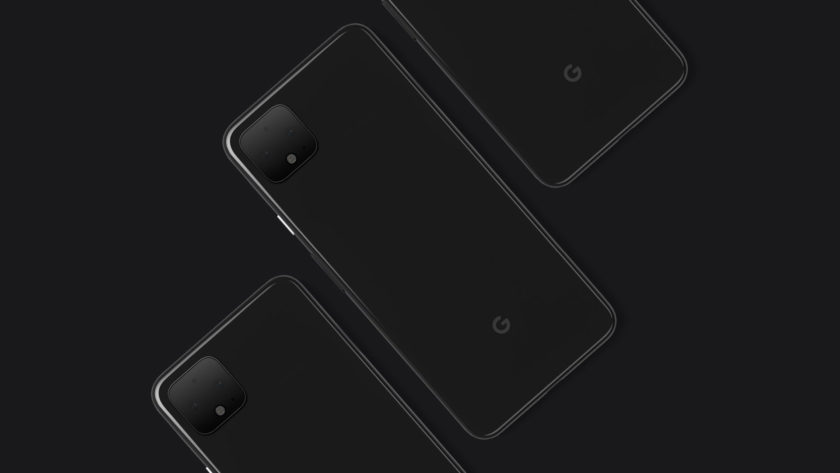 Google Pixel 4 XL Side by Side Render
