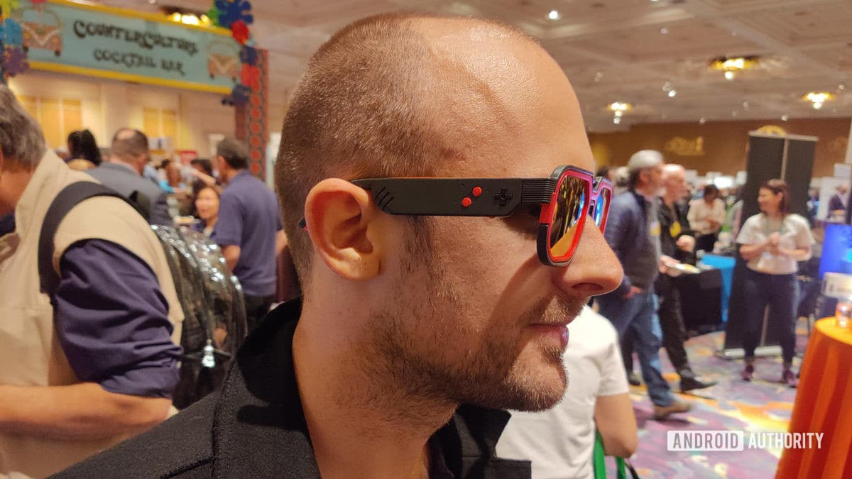CES 2020 Mutrics Gaming Glasses